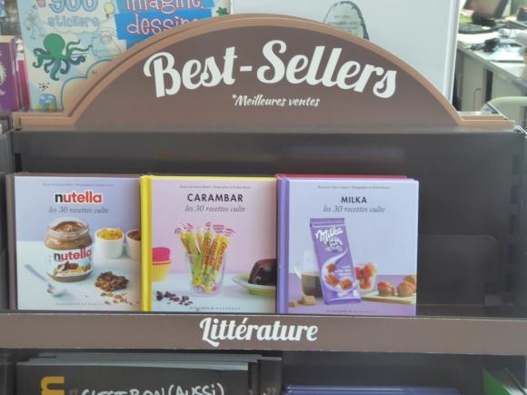 Nutella, Carambar and Milka
